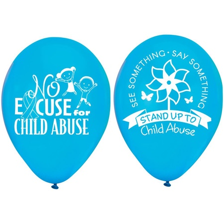 Child Abuse Prevention Month Balloons