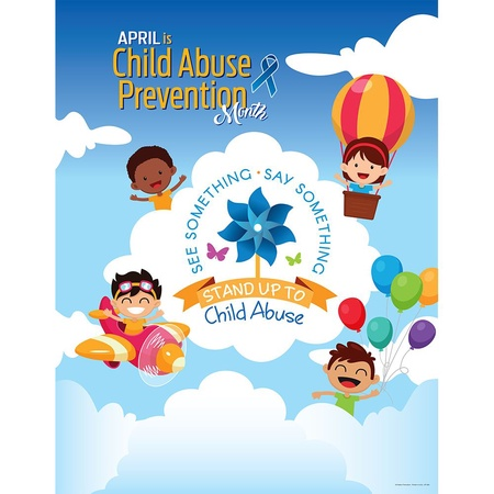 Child Abuse Prevention Month Poster