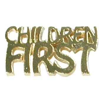 Children First Lapel Pin