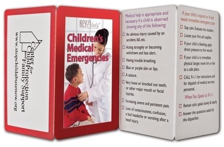 Children's Medical Emergencies Pocket Guide & Record Keeper