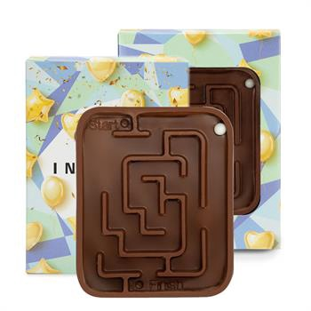 Chocolate Maze in Custom Printed Gift Box