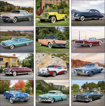 Classic Cars 2021 Promotional Wall Calendars