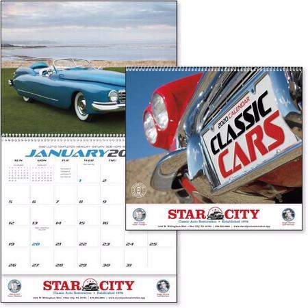 Classic Cars Calendar - 2020