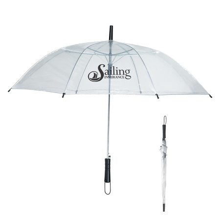 "46"" Arc Clear Umbrella"