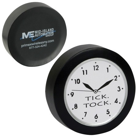 Clock Stress Ball