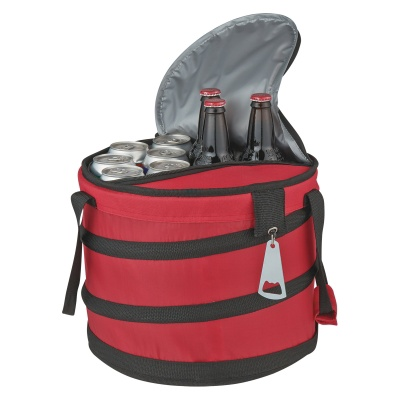 Collapsible Party Cooler with Bottle Opener