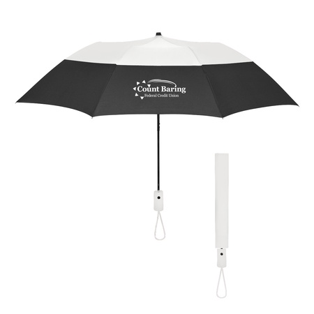 Color Top Folding Umbrella - 46""