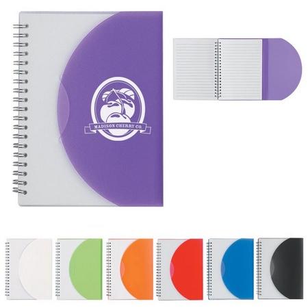Colorama Spiral Notebook