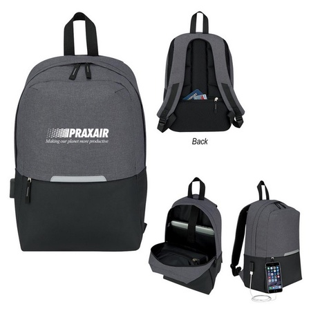 Custom Computer Backpack with Charging Port