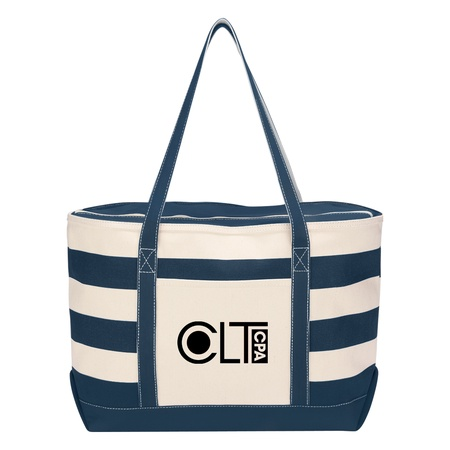 Cotton Canvas Custom Nautical Totes