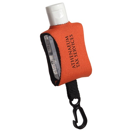 Cozy Clip Promotional Hand Sanitizer - .5 oz.