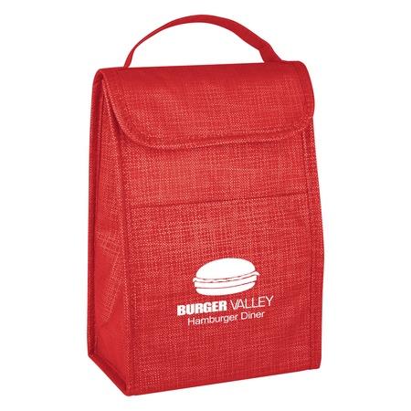 Crosshatch Custom Lunch Bags