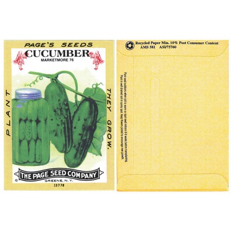 Cucumber Seed Packs