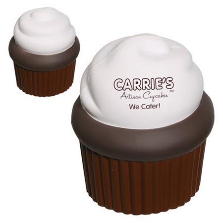 Custom Cupcake Stress Balls