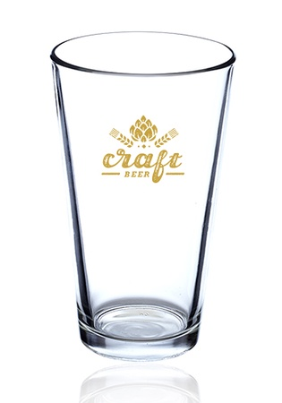 Custom 16 oz. Pint Glass