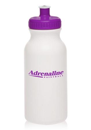 Custom 20 oz. Water Bottles with Push Cap
