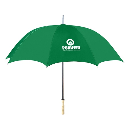"""Custom 48"""" Umbrellas Made from Recycled Bottles"""