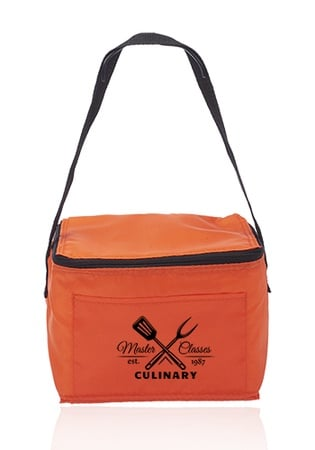 Custom 6 Pack Cooler Lunch Bags