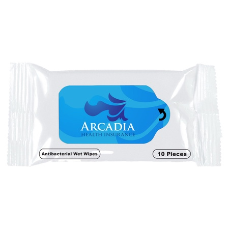 Custom Antibacterial Wet Wipe Packets