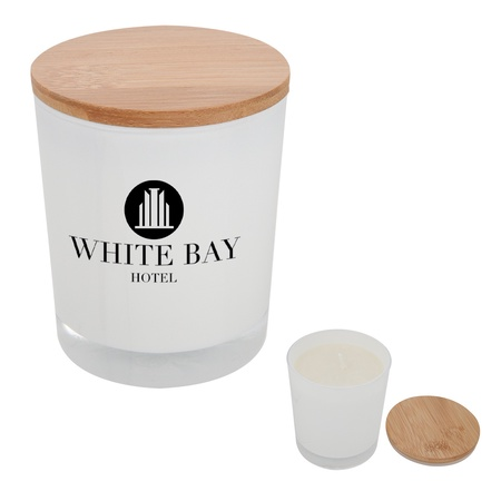 Custom Bamboo Soy Candles