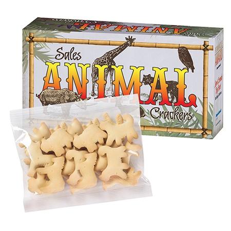 Animal Cookies in Custom Boxes