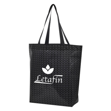 Custom Caprice Laminated Non-Woven Tote Bags