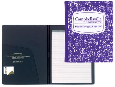 """Custom """"Composition Book"""" Padfolio"""