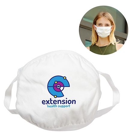Custom Cotton 4-Ply Face Masks