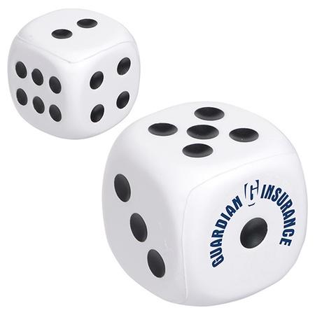 Custom Dice Stress Balls