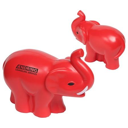 Custom Elephant Stress Balls