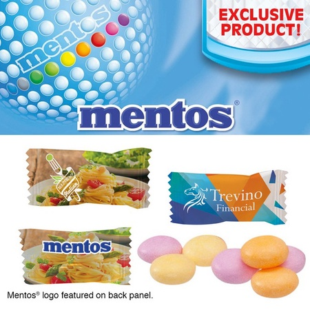 Custom Individually Wrapped Fruit Mentos