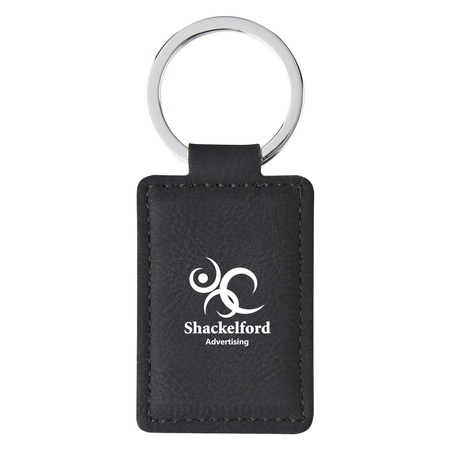 Custom Leatherette Executive Key Tag