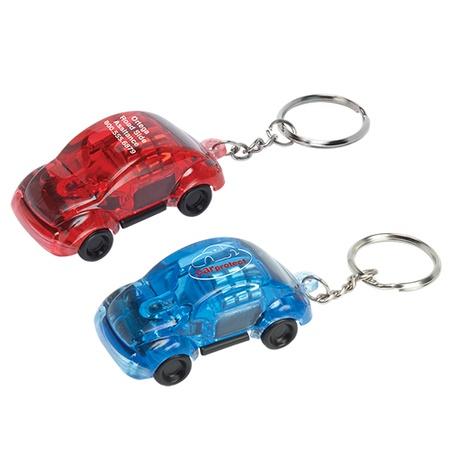 Custom Light Up Car Key Tags