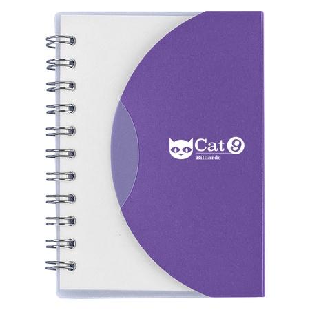 """Custom Mini Spiral 3-1/2"""" x 4-1/4"""" Notebooks"""