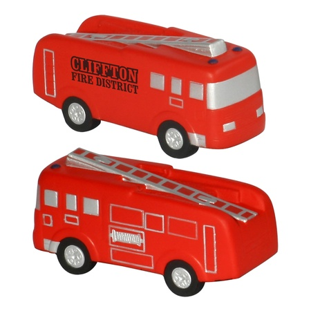 Custom Printed Fire Truck Stress Balls