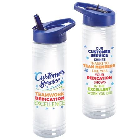 Customer Service Appreciation 24 oz. Water Bottles