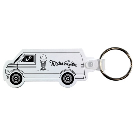Custom Soft Van Key Fobs