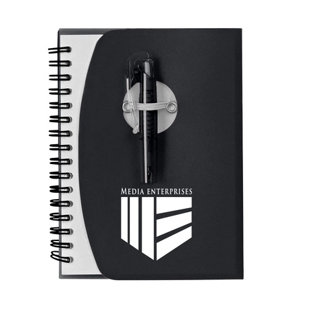 Custom Spiral Notebook with Shorty Pen
