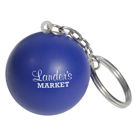 Custom Stress Ball Key Chains