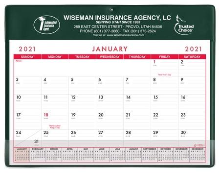 Custom Super Economy Calendar Pads - 2022