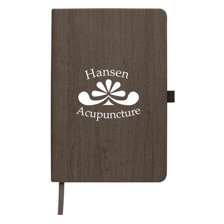 Custom Woodgrain Look Notebook
