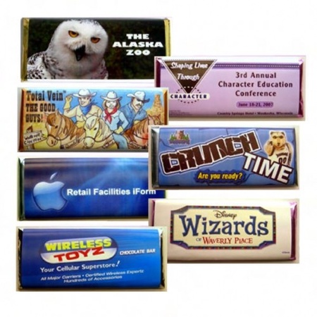 Custom Wrapped Hershey & Nestle Chocolate Bars