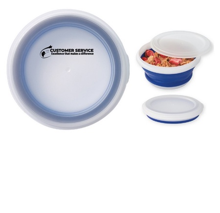 Customer Service Staff Collapsible Food Bowl