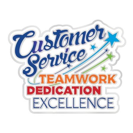 Customer Service Week Lapel Pins