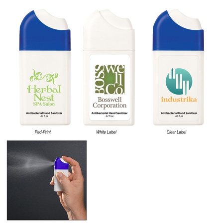Customized Misting Hand Sanitizer Spray - .67 oz.
