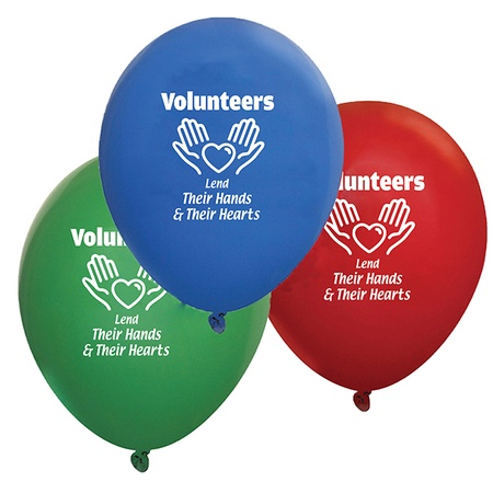 Volunteer Week Celebration Balloons