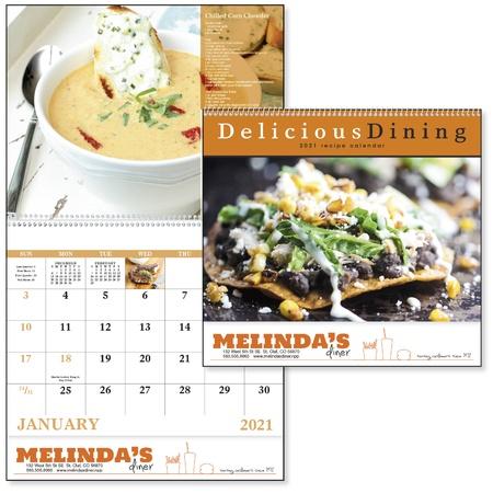 Delicious Dining Calendar - 2021
