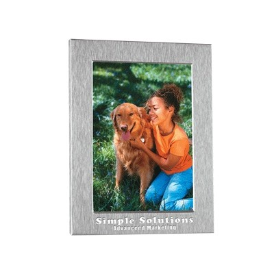 "Deluxe Aluminum Photo Frame - 4"" x 6"""