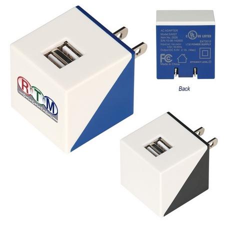 Diagonal Dual Port Adapter