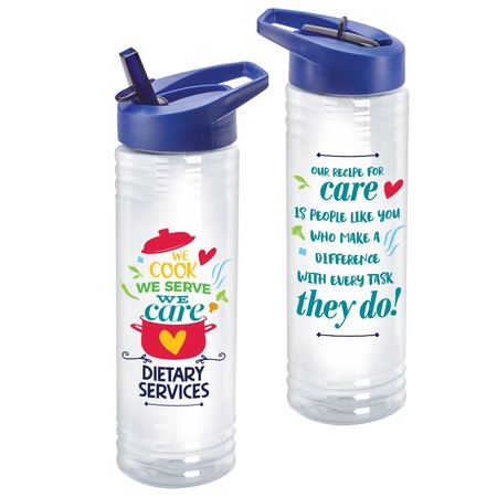 Dietary Services Appreciation 24 oz. Water Bottle Gifts